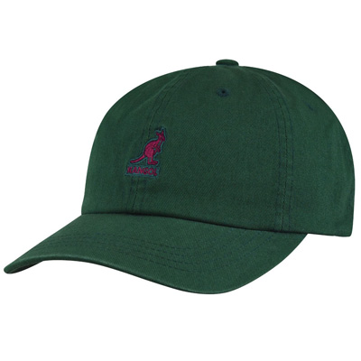 KANGOL Baseball Cap WASHED algae green
